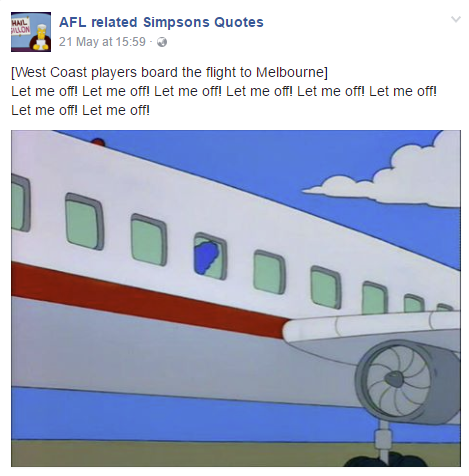 afl simpsons